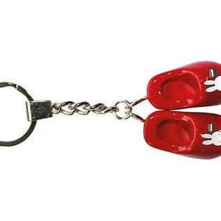Schlüsselanhänger 2 rote Clogs Miffy