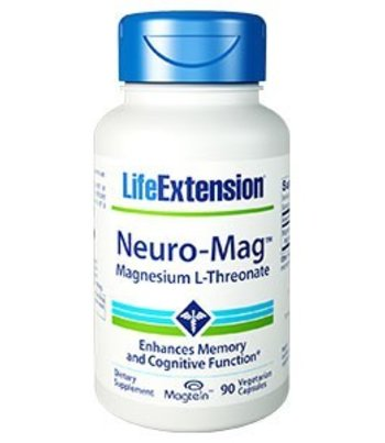Life Extension Neuro-Mag Magnesium L-Threonaat