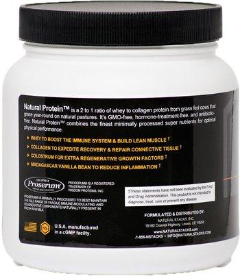 Natural Stacks Natural Protein Vanilla