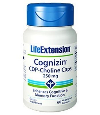Life Extension Cognizin CDP Choline (Citicoline)