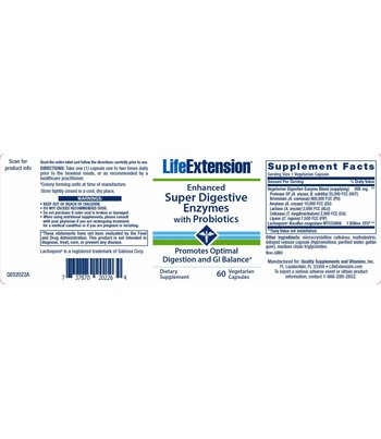 Life Extension Super Digestive Enzymes