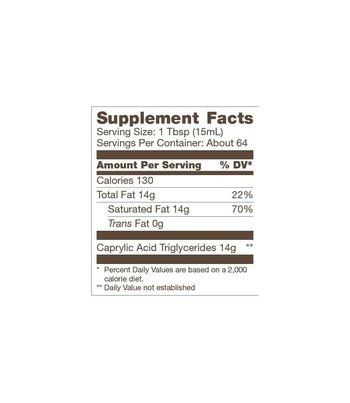 Bulletproof Brain Octane Oil 945 ml