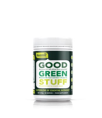 Nuzest Good Green Stuff Superfood Pulver