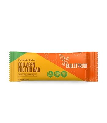 Bulletproof Pumpkin Spice Collagen Protein Bar