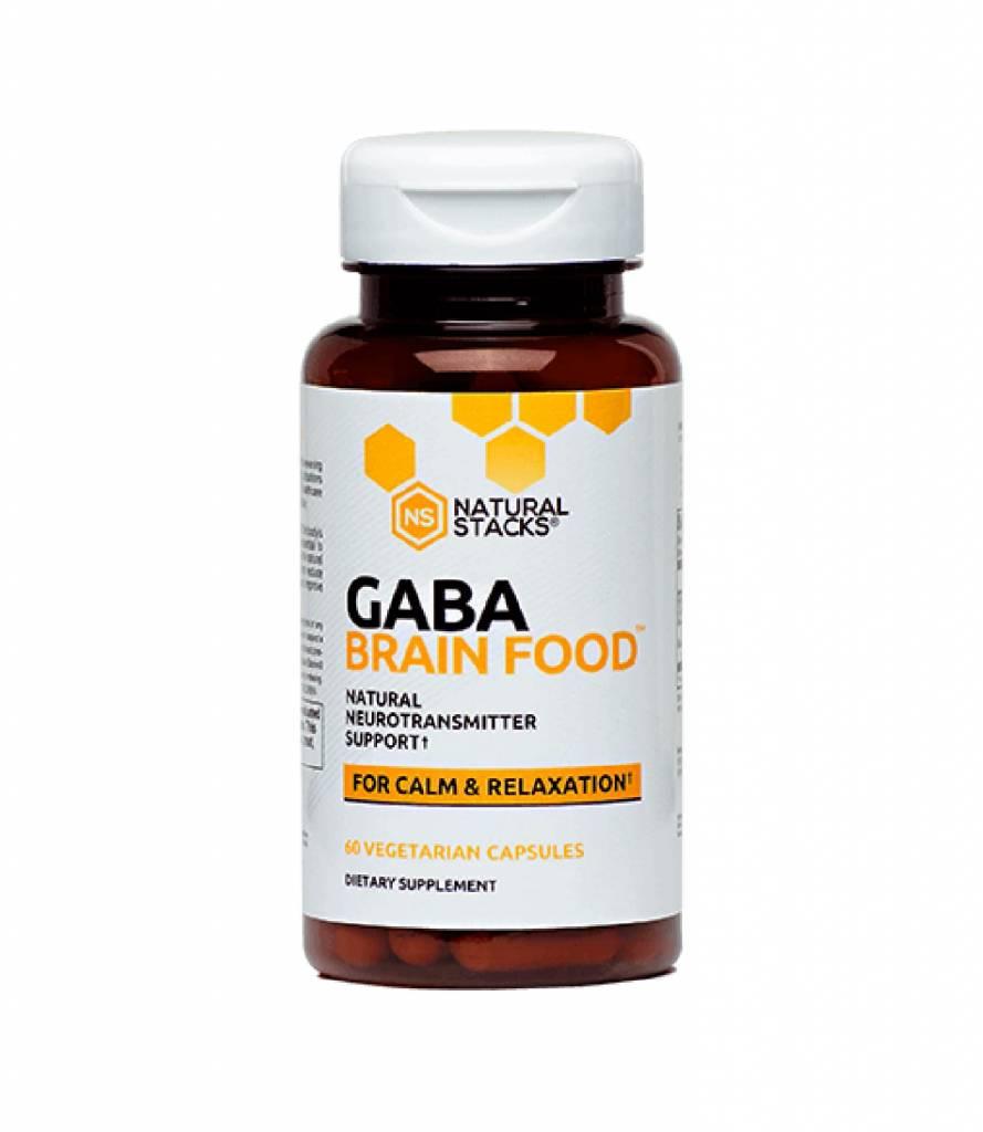 Gaba Brain Food Natural Stacks