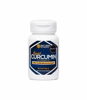 Natural Stacks Curcumin mit biologischem Kokosöl
