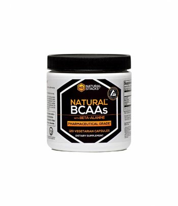 Natural Stacks Natural BCAAs Kapseln mit Beta Alanin