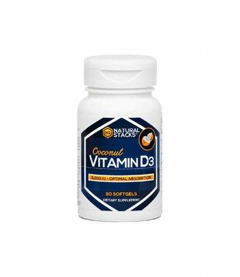 Natural Stacks Vitamin D3 5000 IU