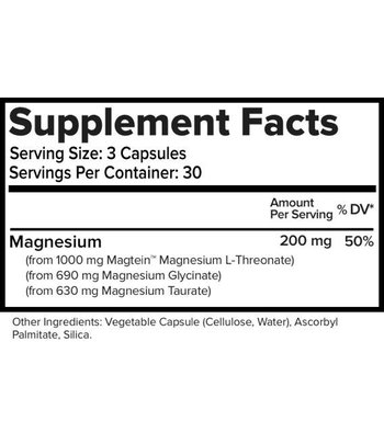Natural Stacks MagTech Magnesium Supplement