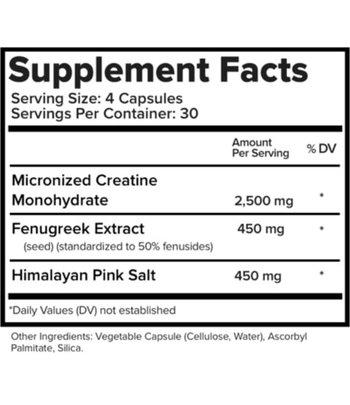 Natural Stacks Biocreatine