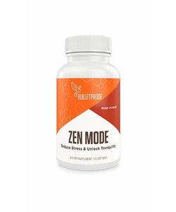 Bulletproof Zen Mode 45 or 90 caps
