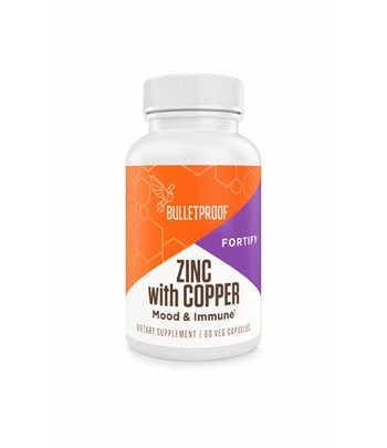 Bulletproof Zinc with Copper