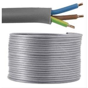 YMvK-mb kabel 3 x 2,5 mm2 GRIJS (per 100 meter)