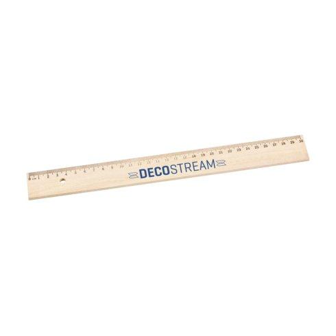 Liniaal bedrukt WoodRuler liniaal