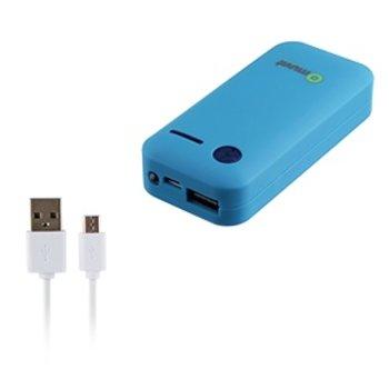 Muvit - Powerbank 5200 mAh Blauw
