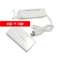 Powerocks - Powerbank Stone 2 - 5200 mAh - wit