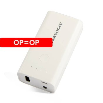 Powerocks - Stone 2 6000 mAh - Wit