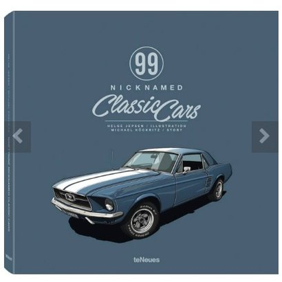 99 Nicknamed Classic Cars teNeues