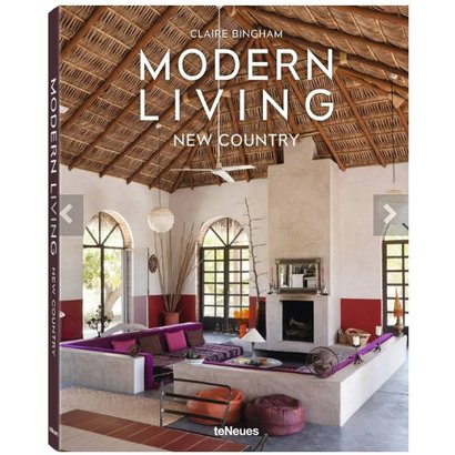 Modern Living New Country, English version Claire Bingham teNeues
