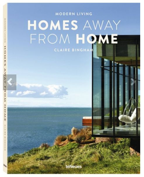 Modern living homes away from home english jacket claire for Home away from home cabins