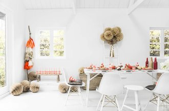 DELIGHT DEPARTMENT | Easy & Joyful party styling | 8717||PREPPY FLAMINGO