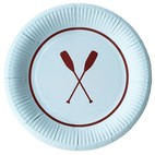 PREPPY PADDLE PAPER PLATES