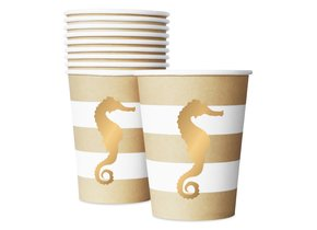 PREPPY SEAHORSE CUPS