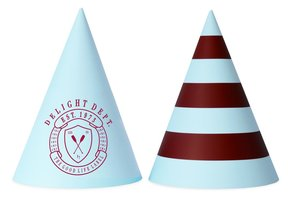 PREPPY PADDLE PARTY HATS