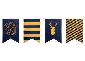 PREPPY DEER PARTY FLAGS