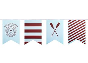 PREPPY PADDLE PARTY FLAGS
