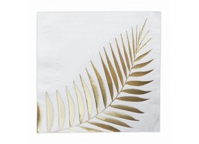 GOLD LEAF NAPKIN