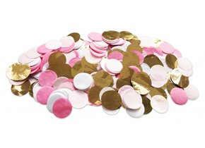 TABLE DECOR CONFETTI PINK GOLD out of stock
