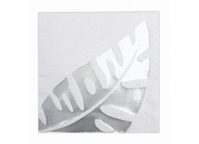 SILVER LEAF WHITE NAPKIN out of stock