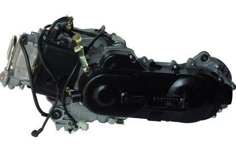 Motorblok GY6 50cc 12 inch (43cm)  korte achteras
