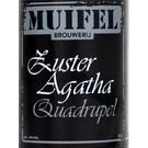 Muifelbrouwerij Muifel Zuster Agatha Quadrupel