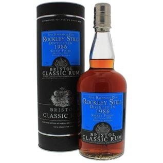 Bristol Classic Rum Bristol Rockley Still 1986/2012 sherrycask finish rum