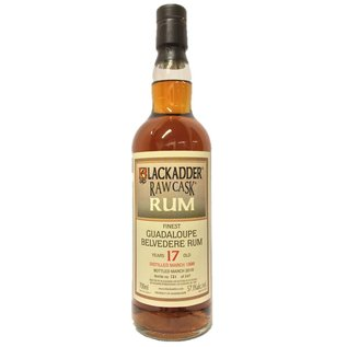 Blackadder Guadeloupe Belvedere Blackadder Raw Cask Rum 1998-17yo