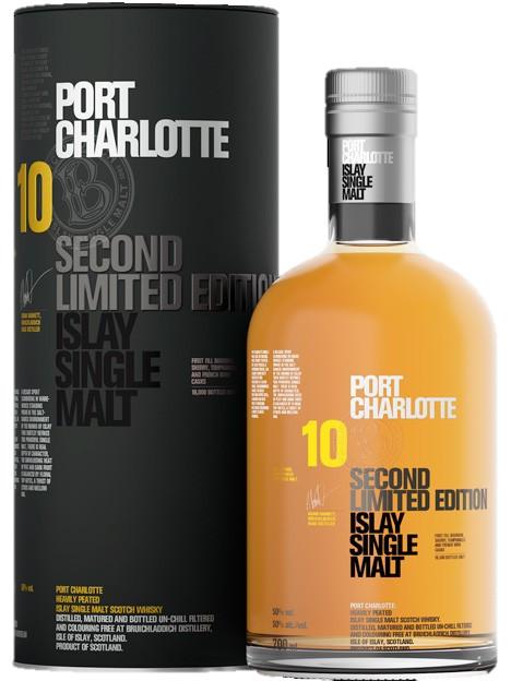 Bruichladdich port charlotte 10yo 2nd limited edition slijterij wijnhuis zeewijck - Bruichladdich port charlotte ...