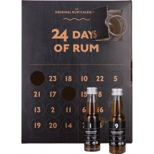 24 Days of Rum - Calender Nosing & Tasting  Set