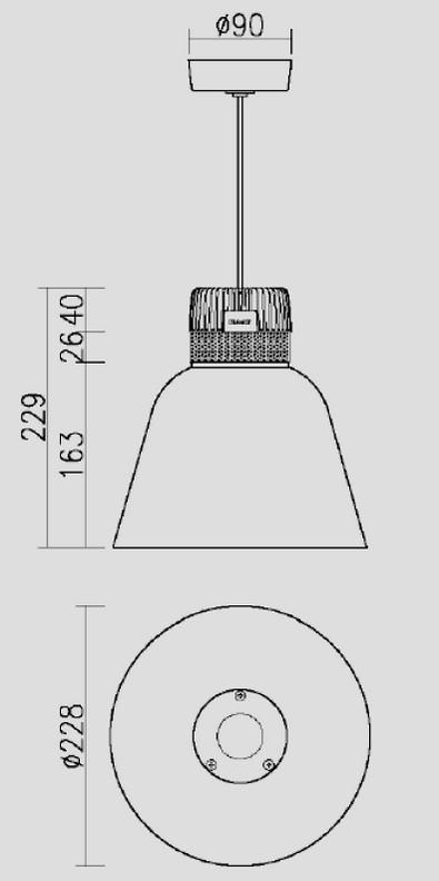 RAAT LED pendelarmatuur | Philips Inside | 850Lm | The Bryan pendant LED