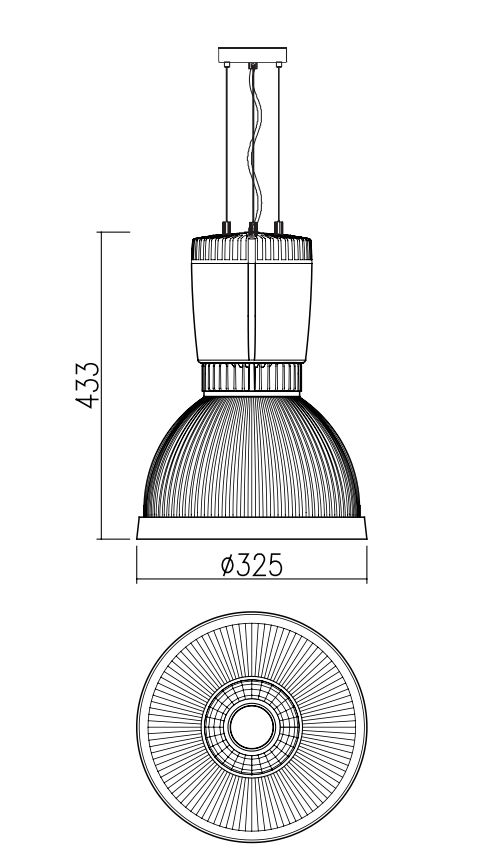 RAAT LED pendelarmatuur | Philips Inside | The Bryan Pendant LED supreme