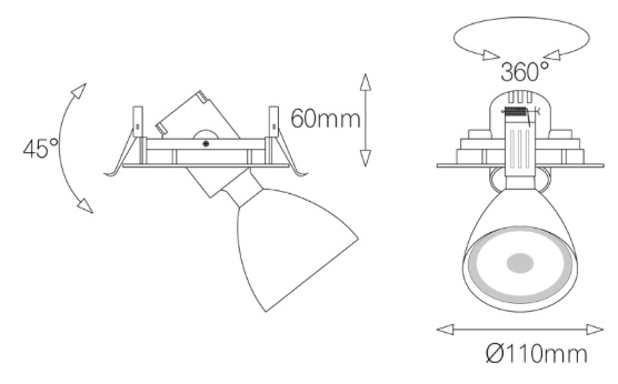 Light4U Inbouwspot | Philips Inside | The Orbit-in