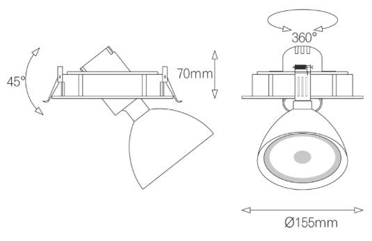Light4U Inbouwspot   Philips Inside   The Orbit-in 2