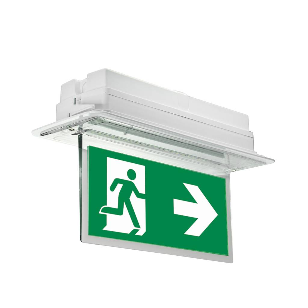 MacBright TIC Noodverlichting Inbouw LED N/N 4000K 4W PT IP20 | Brandt continu