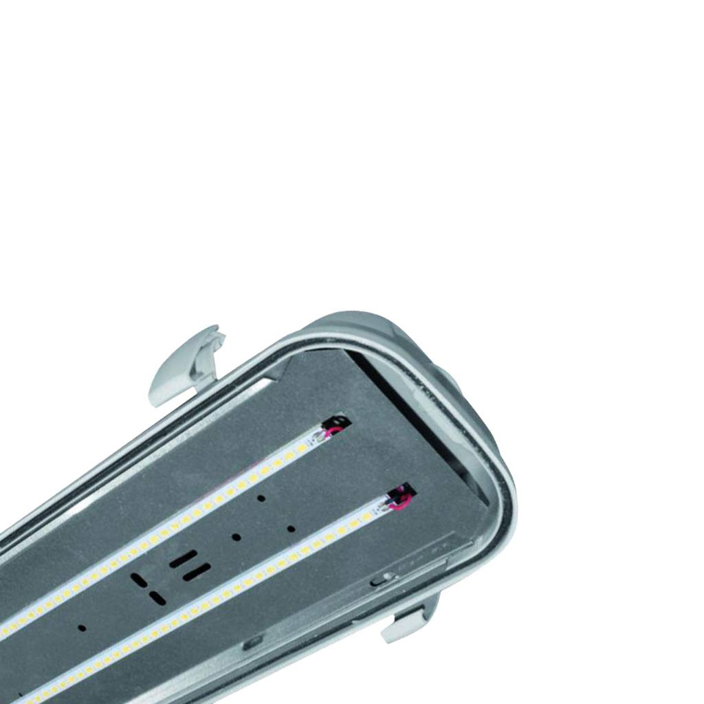 MacBright Ocean-1200-LED IP65 4800lm 840 PC RVS Clips