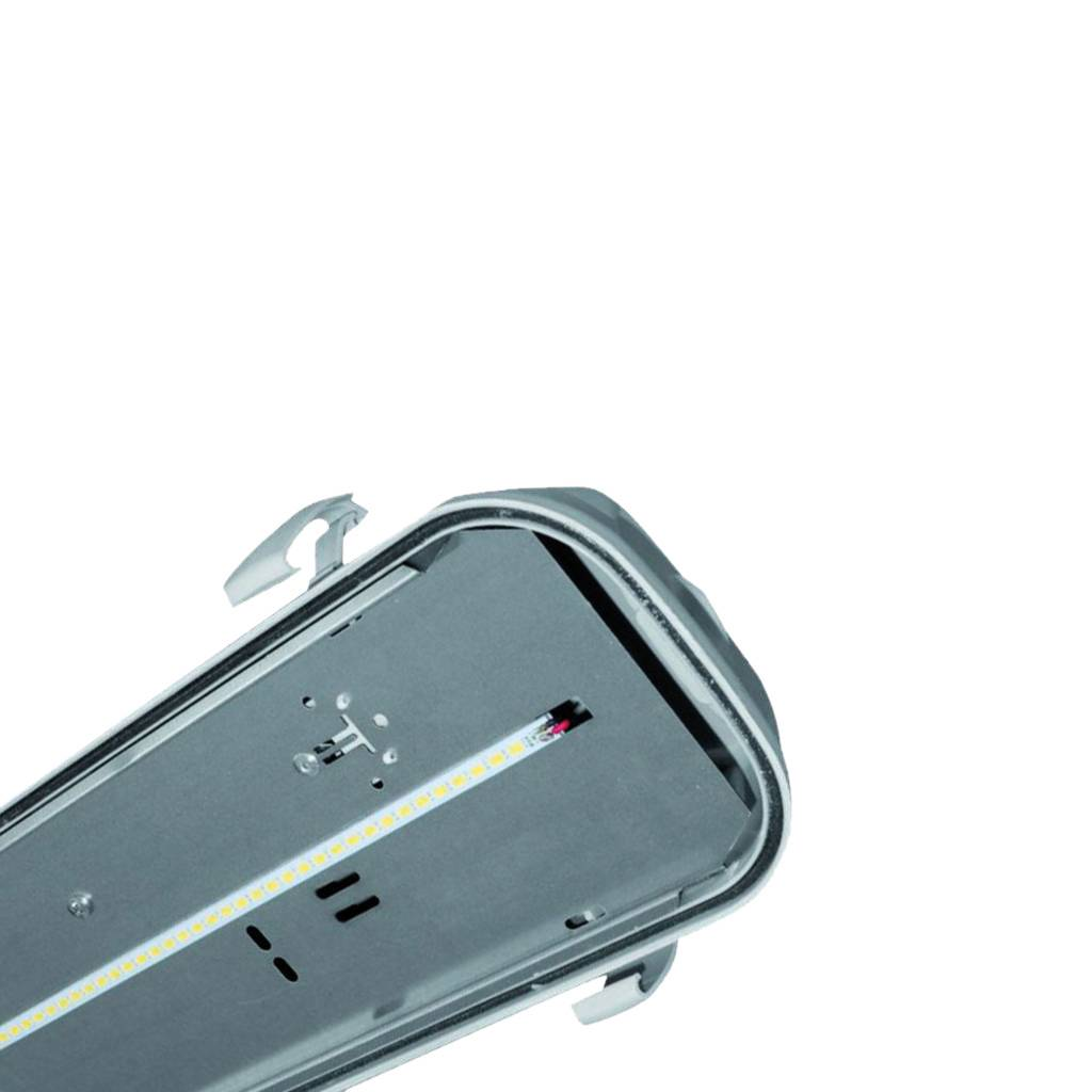 MacBright Ocean-1200-LED IP65 2500lm 840 PC RVS Clips