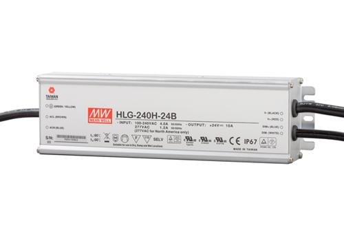 Mean Well LED trafo | 240W | 24V | Dimbaar 1-10V | IP67