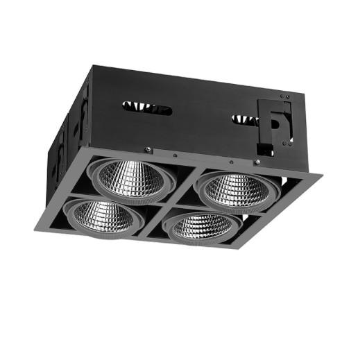 Light4U LED cardanische inbouwspot | Philips Inside | The Cardanic four square