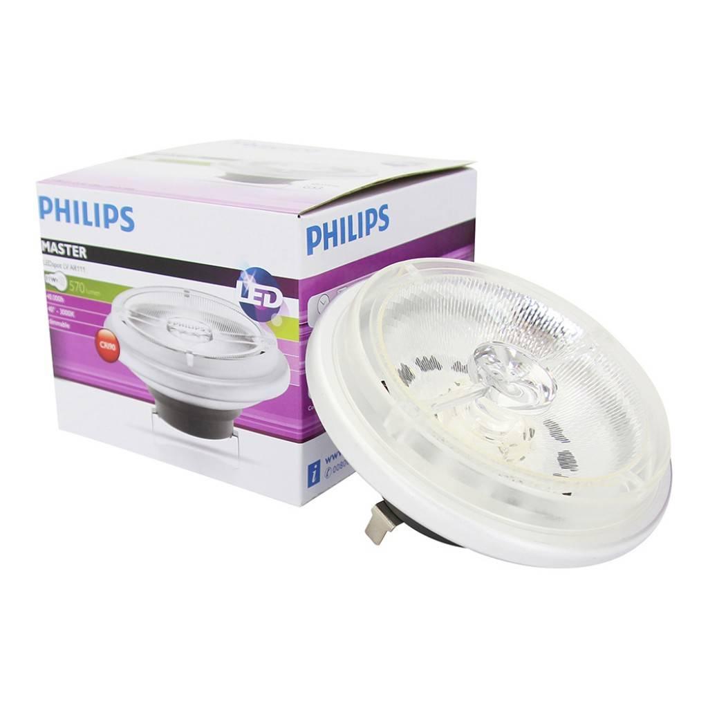 Philips LEDspot LV D 11-50W 927 AR111 40D (MASTER)