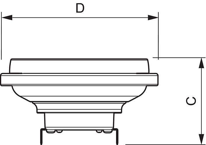 Philips LEDspot LV D 15-75W 927 AR111 24D (MASTER)